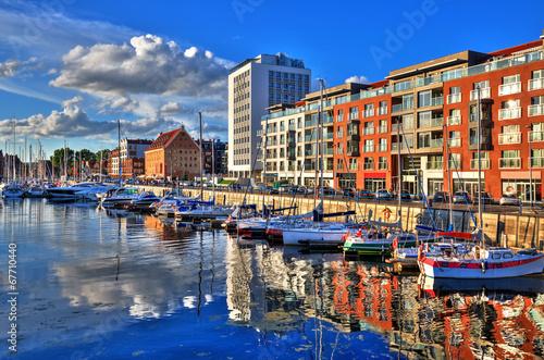 Obraz Port Gdański - fototapety do salonu