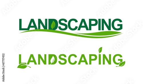 Fotografie, Obraz  Landscaping in green