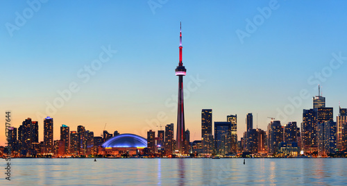 Spoed Foto op Canvas Canada Toronto skyline