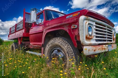 фотография  Old Red Truck
