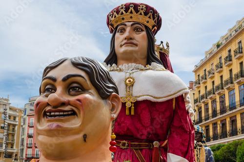 Fotografía  Giants and Big Heads parade