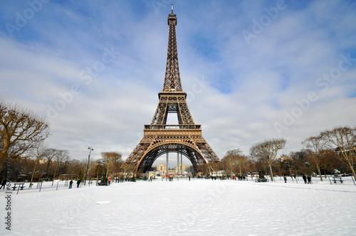 Papiers peints Paris Snowstorm in Paris