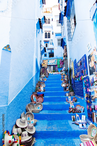 Photo Stands Morocco Blue