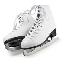 Figure Skates Isolated On Whit...