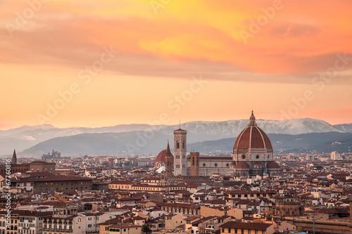 In de dag Florence Vistas de FLorencia, Italia
