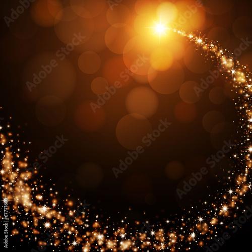 Eleganz in der leuchtenden Aura