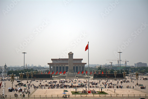 Spoed Foto op Canvas Beijing Tiananmen Square, Beijing, China