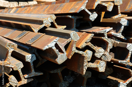 railway rails scrap recycling 4