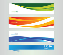 Abstract Vector Banner For Des...