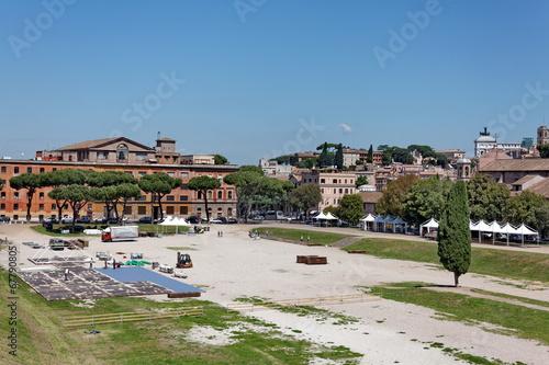 Fotografia  Campo Marzio, Roma. Campus Martius. Champ de Mars
