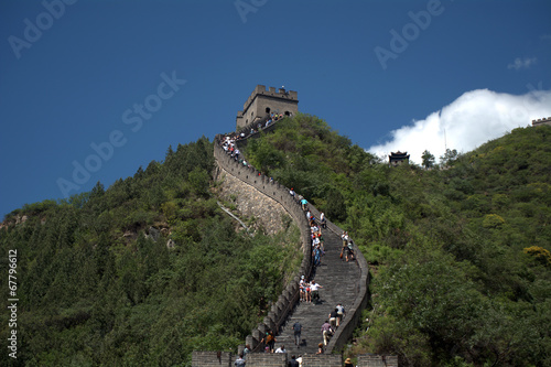 Papiers peints Muraille de Chine The Great Wall, Juyongguan, China