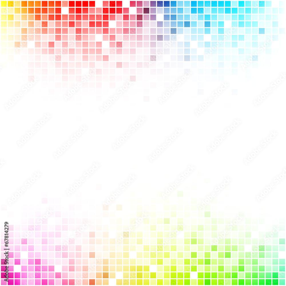 Fotografia  kolorowa mozaika tło wektor