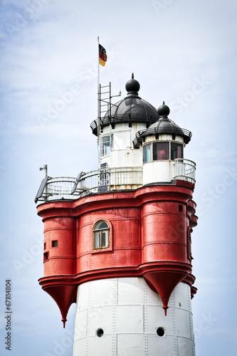 Roter Sand Leuchtturm Detail