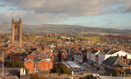 Foto  Ludlow, Shropshire