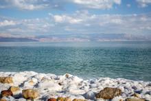 Dead Sea Salt Beach