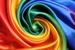canvas print picture - RegenbogenStoff