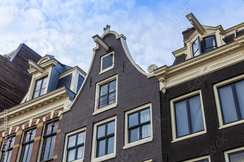 Photo  Amsterdam, the Netherlands, Typical architectural details