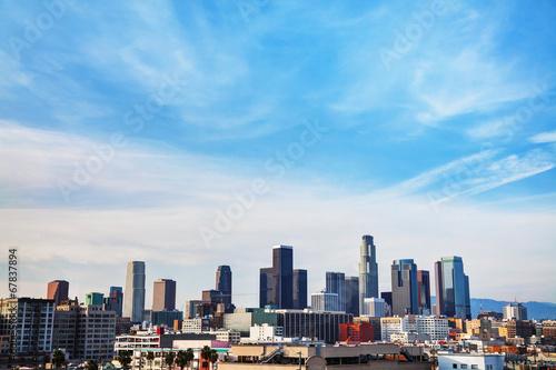 Plakat Los Angeles cityscape