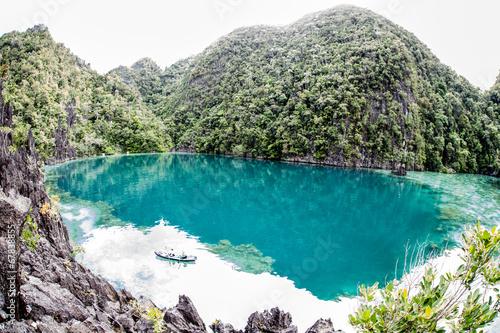 Foto op Plexiglas Indonesië Remote Lagoon