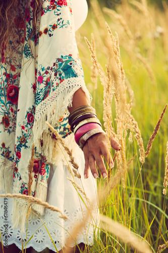 Fotografering  boho fashion