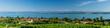 Leinwanddruck Bild - Bodenseepanorama