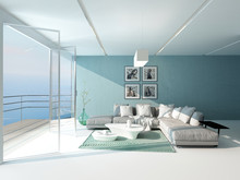 Bright Airy Sitting Room Overl...