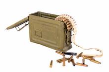 Caisse De Munitions Avec Des C...
