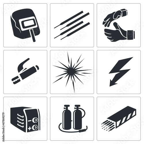Welding Icon Collection Buy This Stock Vector And Explore Similar