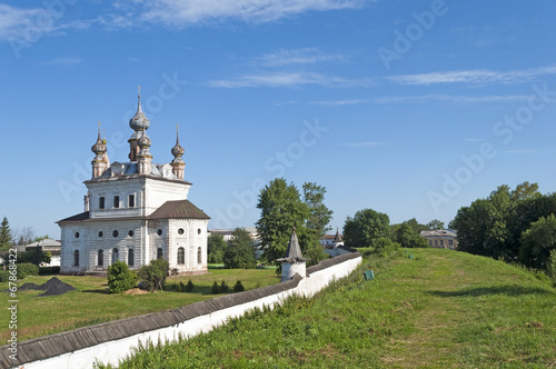Foto op Plexiglas Kiev Ancient Monastery of Archangel Michael in Yuriev-Polsky