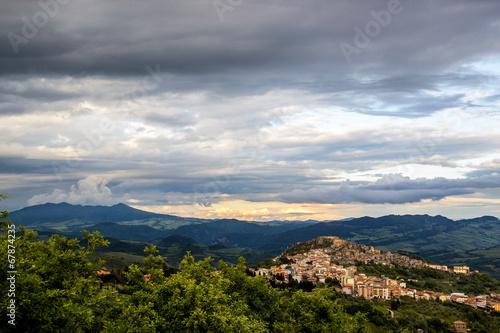 Photo Panorama di Calitri (Avellino)