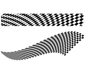Vector checkerboard illustration