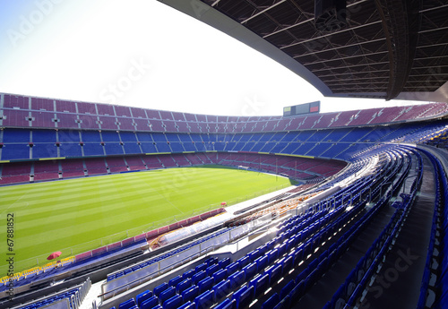 Fototapeta premium stadion piłkarski piłki nożnej