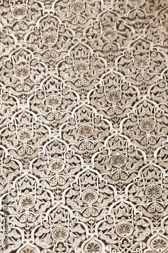 Photo Stands Morocco Arabic pattern