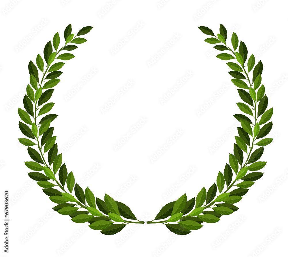 Fototapeta Laurel wreath