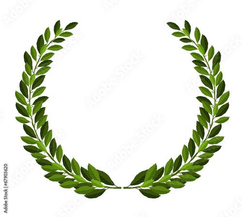 Fototapeta Laurel wreath obraz