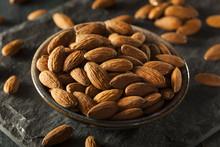 Raw Organic Brown Almonds
