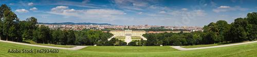Spoed Fotobehang Wenen Schloss Schonbrunn Palace
