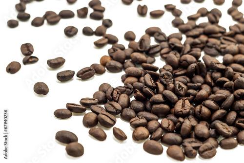 Deurstickers koffiebar Group of Fresh Coffee