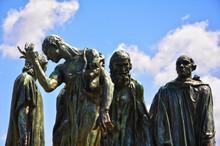 Los Burgueses De Calais, Auguste Rodin, Francia