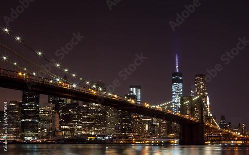 Brooklyn Bridge. New York. United States