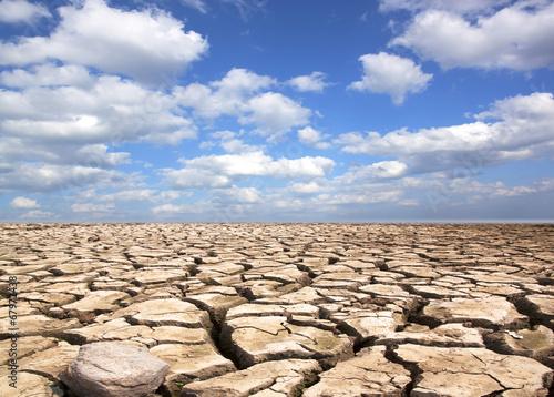 фотография  Drought land