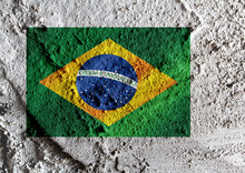 Brazil Flag Theme Idea Design