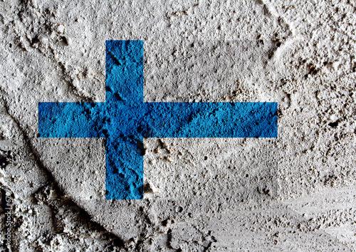 Fotografie, Obraz  Finland Flag
