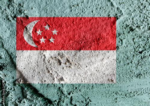 Photo  Singapore Flag