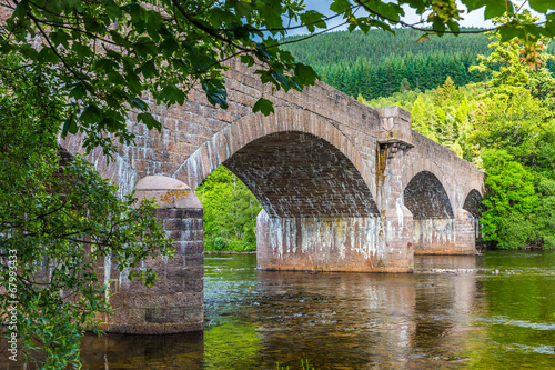 Old Bridge at Ballater #1, Cairngorms NP, Scotland Fototapet