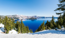 Crater Lake National Park, Ore...