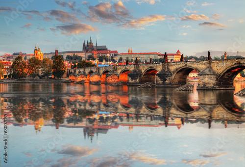 fototapeta na szkło Praga