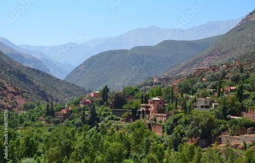 Foto auf Leinwand Marokko Pocztówki z Maroka