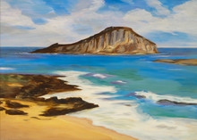 Painting, Chinaman's Hat Islan...