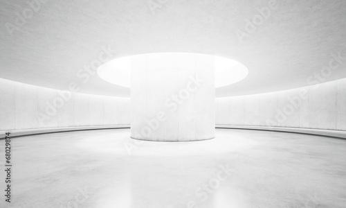 Fototapety, obrazy: Bright concrete interior